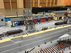 Brickworld 2016 layout (Nebraska's MOC) Tags: uboat lego german submarine ww2 world war 2
