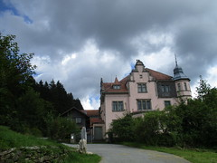 Mrchenschloss - Lambach - Bayer. Wald - Germany (Nadine Woelfle) Tags: bayerischerwald museum mrchen wolken bayern wald deutschland lambach mrchenschloss