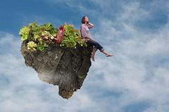 115/365 (Jessie Rose Photography) Tags: flyingisland flying floating cacti tinyperson 365 365project 365challenge selfportrait