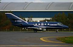 Falcon 20 G-FRAD Cobham (Ayrshire Aviation Images) Tags: cobham falcon2o dassault prestwickairport jointwarrior airplane aviation
