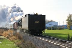 Bannister (BravoDelta1999) Tags: peremarquette pm greatlakescentral glc railroad annarbor aa railway 482 berkshiretype 1225 steamrailroadinginstitute michigan bannister
