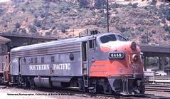 SP F7 Los Angeles CA (Mark Vogel) Tags: emd railway railroad train eisenbahn chemindefer sp southernpacific