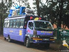 It's Loaded - 28th May 2016 (princetontiger) Tags: kenya nairobi load burden luggage bus