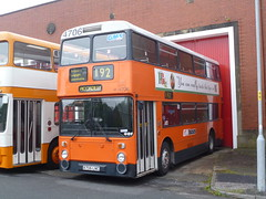 Preserved GM Buses 4706 (A706LNC) 15102016c (Rossendalian2013) Tags: preserved bus manchester greatermanchestertransport greatermanchesterpte gmpte gmbuses gmbusessouth leyland atlantean an68 northerncounties a706lnc