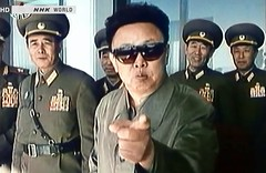 Kim Il-sung (Quetzalcoatl002) Tags: joke military regime kimilsung korea snapshot fun laughing humor