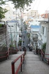 Your name.  (HAMACHI!) Tags: tokyo 2016 japan yotsuya shrine stairs slope movie kiminonaha yourname   locationsite  pilgrimage fujifilm fujifilmx fujifilmx70