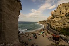 Tropea (paolotrapella) Tags: topea italy calabria mare acqua cielo sky sea beach spiaggia