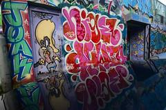NIGEL DOWTA (Di's Free Range Fotos) Tags: nigel dowta graffiti brighton