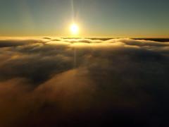 Drone above low fog (ABDKHemings) Tags: drone dji fog