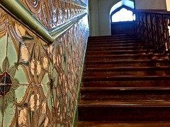 Gorgeous Steps Ahead (shaileshsaraf) Tags: steps staircase heritage vintage window balustrade architecture tiles glazedtiles woodenstaircase old mumbai design charming
