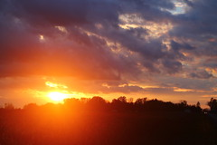 Purple Haze (Cheyenne Zaremba) Tags: nature sky sunset purple
