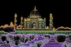 India - Uttar Pradesh - Agra - Taj Mahal - 26b (asienman) Tags: india uttarpradesh agra tajmahal asienmanphotography asienmanphotoart unescoworldheritagesite mughalarchitecture muslimart