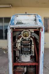 Gas Pump (Miiksterr) Tags: gas old abandoned rustic dirty broken unused rust building