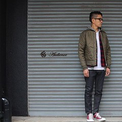 October 25, 2016 at 04:53PM (audience_jp) Tags: ma1 fashion  ootd style      audience    olive   blouson  jacket