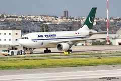 F-BVGG LMML 02-12-2016 (Burmarrad) Tags: airline pakistan international airlines pia aircraft airbus a310308 registration apbeq cn 656 fbvgg lmml 02122016