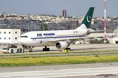 F-BVGG LMML 02-12-2016 (Burmarrad) Tags: airline pakistan international airlines pia aircraft airbus a310308 registration apbeq cn 656 fbvgg lmml 02122016