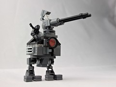 """Baba Yaga"" Mobile Command Bunker (Deltassius) Tags: mfz mf0 frame mech mecha command bunker war military space lego robot scifi"