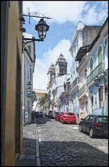 (wilphid) Tags: salvador bahia brsil brasil rue architecture btiments glise