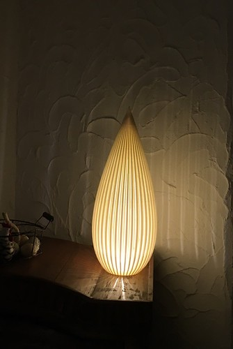 3d printed - Tannery Lampshade II for Delta 3D printers - by Dizingof -1