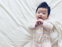 baby Eva (hanks studio) Tags: hanks55 malaysia singapore baby eva lovely cute girl little smiling angel princess photography mothers love iphoneography iphone6 4 months old