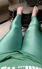 Green pants (Harli Kinns) Tags: green pants yogapants tightpants sexy legs leggy crossdresser crossdress lookatme thighs girly ladyboy tgirl shiny sogay gay gaylife kindagay harlikinns notgay girl feet man