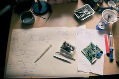Diagram (noizhardware) Tags: design diagram schematic electronic electronics diy mixer matrixmixer audio sound music experimental vca eurorack circuit circuits drawing tools components