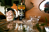 Best Bitter (Georgie_grrl) Tags: princeedwardcounty cottagechoir friendship music social friends roadtrip pentaxk1000 rikenon12828mm ontario antiques store deadpeoplesstuffantiques bloomfield mirror me peekaboo cup stein bestbitters servingtray ahoy champagneglassbs theakston oldpeculier
