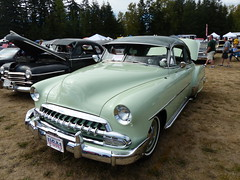 1952 Chevrolet DeLuxe (bballchico) Tags: 1952 chevrolet chevroletdeluxe jefforsman arlingtoncarshow arlingtondragstripreunionandcarshow carshow 1950s 206 washingtonstate arlingtonwashington