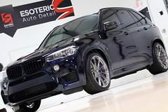 BMW F85 X5M Carbon Black (Esoteric Auto Detail) Tags: bmw x5m carbon black esoteric edition hre akrapovic kw coilover dinan kamikaze enrei miyabi suntek detail detailing f85