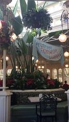 Florida 2016 (Elysia in Wonderland) Tags: disney world orlando florida holiday 2016 elysia crystal palace magic kingdom celebration friendship day winnie pooh plants restaurant