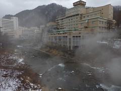 Vapor (eijun.ohta) Tags: spa hotspring jozankei sapporo vapor stream