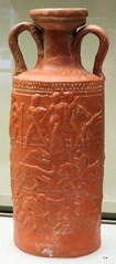 IMG_6414 (jaglazier) Tags: 2016 3rdcentury 3rdcenturyad adults africaproconsularis animals ariadne bacchus ceramics clay cologne copyright2016jamesaglazier crafts germany goddesses grecoroman horses hunters hunting imperial koln kln legends lions mammals men museums myths northafrica pottery red religion rituals roman romangermanicmuseum rmischgermanischesmuseum september tunisia vases women archaeology armour art earthenware flasks gods hares molded reliefs riders shields spears terrasigillata weapons