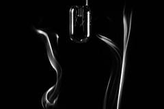 (Giorgini Luca) Tags: smoke fumo lampadina lampada black white bn bw noiretblanc monochrome lightbox minimal minimale still life