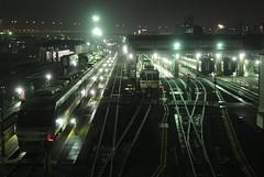 nagoya16106 (tanayan) Tags: urban town cityscape night view aichi nagoya japan    train yard jr tokai railway nikon j1