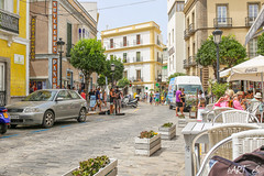 Afternoon in Tarifa (bartslaby) Tags: street summer music live performance afternoon singer spain tarifa andalusia