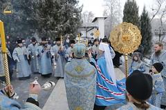 10. Arrival of Sanctities at Lavra / Прибытие святынь в Лавру 01.12.2016