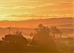 Autumn morning in the Gers (francorbett) Tags: gers lasauvetat gascony landscape morningmist midipyrenees autumn