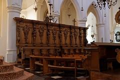 Stalles - Eglise Saint Pierre - Turnhout - Flandres - Belgique (Vaxjo) Tags: vlaams gewest belgique belgi flandres provincedanvers turnhout eglise kerk church stalles