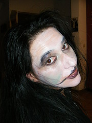 Halloween 2015 - Nina is all made up:) SPOOKY ...... (seanfderry-studenna) Tags: nina make up halloween 2015 croatia croatian petrinja october spooky eyes brown pink lips lipstick throat choker black clothes indoors inside long dark hair brunette wild crazy fun witch dress dressed costume character play happy serb woman female girl girlfriend wife married fiancee stunning gorgeous beauty beautiful protrait pose posed posing balkans fancy