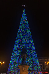 Christmas lights (PAJOTAPHOTO) Tags: lugares madrid centro tipofotografia nocturna canoneos70d