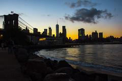 Manhattan Sunset (luisbajanai) Tags: sunset nikon newyork nikonlens nyc ny brooklynbrigde manhattan nikond7200 newyorkskyline newyorkcity