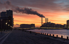 After Sunset (Ghita Katz Olsen) Tags: copenhagen islandsbrygge bryggebroen bridge silhouette