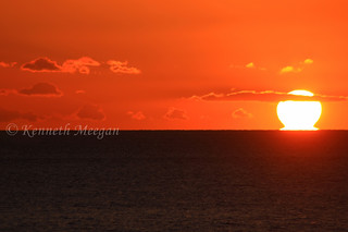 Sunset from Kilmore Quay