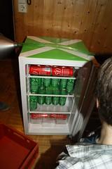beer so much beeeeeer (smellofdaydream) Tags: birthday party green beer fridge drink reg