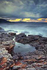 upcoming storm 2 (Vangelis Feleris) Tags: sea 2 test seascape storm greece hdr hdri upcoming blending manually exposures nea artaki evia evoia