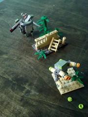 Toro vs Stock (mchnzr) Tags: lego mecha mech legomecha