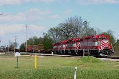 Four Pack (Wide Cab) Tags: train switch crew local freight wsor oshkoshwi l595 wisconsinsouthernrailroad oshkoshsub