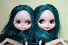 Emerald Love Lazuli and Majorelle
