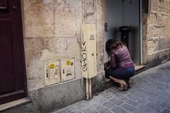 shoe down (zlandr) Tags: street paris france europe candid eu olympus 3rd ep1 lemarais chrisfarling zlandr