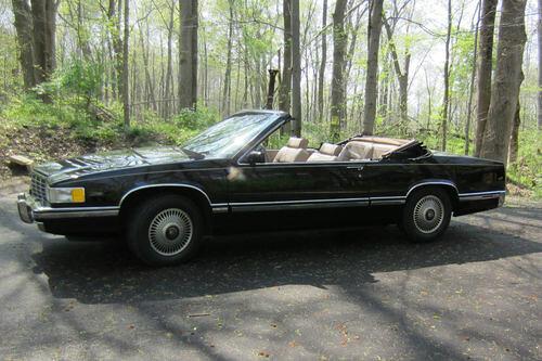 convertible cadillac 1991 deville
